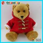 ICTI Audited popular soft cute plush red teddies