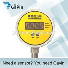 GPY117 stainless steel OEM biogas pressure gauge