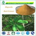 Fábrica de gmp hplc folhas de magnólia artificial 98% pó