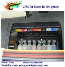 Refill ink cartridge for Epson R1900 ciss T0870-T0874 T0877-T0879