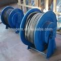 eléctrico de acero del tambor de cable para enrollar el cable