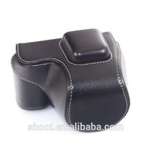 Hot Camera PU Leather Waterproof Bag for Sony NEX-5R NEX5R NEX-5T NEX5T