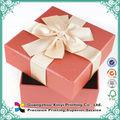venta al por mayor venta caliente 2015 de alta calidad reciclables personalizados hechos a mano de papel cajas deinvitación de la boda