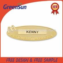 High Quality Custom Design Mcdonald's Pin Badge