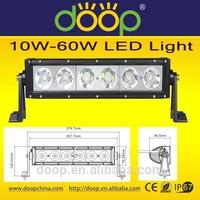 10W LED Chips 60W FLood/Spot Beam Lights Outdoor Vehicle Lights LED