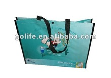 2012 hot sale high quality shoe bags,laminated supermarket bags,glossy lamination pp woven bags