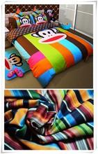 las ventas caliente de dibujos animados de impresión de tela para la fabricación de conjuntos de ropa de cama
