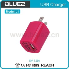 High quality Portable usb charger ,travel adapter , micro usb charger for smart phone