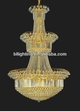 Modern gold ball shape crystal chandelier