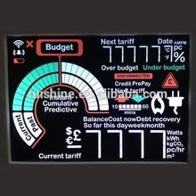 FSC color negative segment module high contrast VA type display LCD