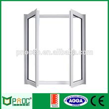 Crank open outward casement window with AL frame PNOC076CMW
