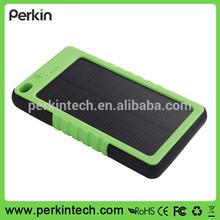 PS02 New design 8000mah Waterproof solar power bank charger