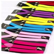 metal clips belt loop suspenders with wholesale price