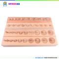 Materiales montessori, los juguetes del montessori, juguete de madera educativo- madera- bloque de cilindros( conjunto de 4)