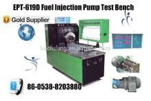 Hot sale EPT-619D Fuel injection nozzle led machine tester