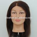 venta al por mayor de peluquería para el cabello humano cabezas de muñecas