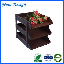 Factory Outlet foldable storage box brown pu leather storage box