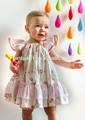 красивая одеёда детей 2015 хлопка платья новый стиль принцесса имена девочек платья