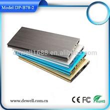 Mobile phone accessory aluminum alloy portable power back
