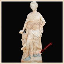 Marble figure home decor statue