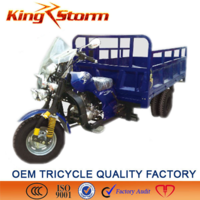 2015 China 250cc/300cc Water Cooling Engine cargo three/four wheel cheap used motorcycle prices with cabin