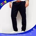 Meninos dark blue navy chino calças basculador