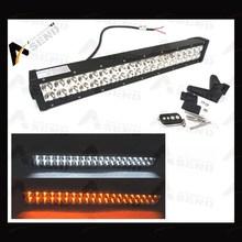 NEW!3D FLASH 120w led light bar remote control flood/spot yellow white light LED LIGHT BAR for truck jeep RV SUV ATV 4X4 offroad