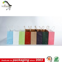 Handmade Cloth Shopping Bag In kraft Paper Bags