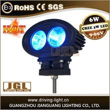 high quality cree 6w led warning light blue light machine