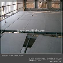 13mmสีดำคณะกรรมการไฟเบอร์ซีเมนต์สำหรับเพดาน