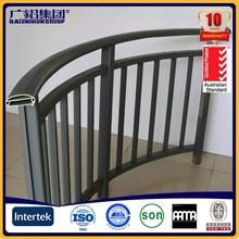 Succinct aluminum railing veranda