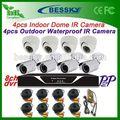 8 caméra kit chaîne de distribution pour ford explorer d'alarme dvr de surveillance à chaud