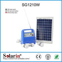 Emergency 20W Mini wind and solar lamp