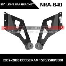 """50"""" LED Light Bar Straight mount for 2002~2008 Dodge Ram 1500"""