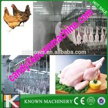 La hbp 1000 avesdecorral capacidad para línea de pollo/matadero de pollo para la venta