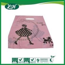 manufacturer promotional custom printed birthday plastic carrier shop bag