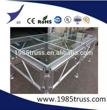 transparent Plexiglass Stage, Organic Glass Stage for sale