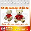 custom natal macio brinquedo do urso de pelúcia brinquedos
