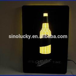 acrylic led box,acrylic advertising led light poster