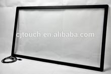 (15-100inch) Large screen kiosk,60 Inch Infrared Multi Touch Screen Panel,USB IR Multi touchscreen panel