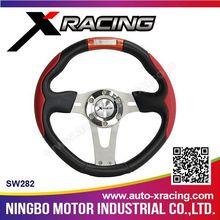 XRACING-2015 SW282 universal car steering wheel, Racing Car Steering whee/hot sell steering wheel cover for all carsl