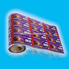 Best price custom printed coffee packaging foil paper aluminum