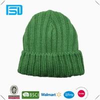 Winter New Arrival Unisex jacquard cuff knitting hat