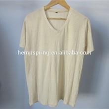 hemp t-shirt, V-neck hemp t-shirt, OEM service