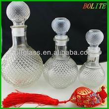 750ml unique crystal glass wine bottle bottle of red wine wholesale