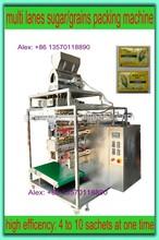 Automatic multi-lane 4-side granule/grains/sugar/spice/salt packing Machine
