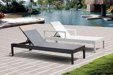 Alice Elegent European Outdoor/Resort pool Garden furniture chaise/beach Resin Sun Lounger