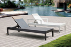Alice Elegent European Outdoor/Resort pool furniture chaise/beach Resin Sun Lounger
