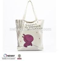 2015 custom printing fabric tote bag,plain white cotton canvas tote bag,wholesale cheap plain tote canvas bags