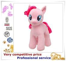 Children Safe Plush Horse Stuffed Animal Toy, ride on pony horse plush toy